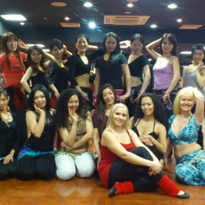 Yulia Special work shop  2012/11/18