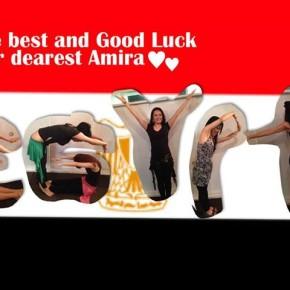 Amira エジプトへ行ってきます!