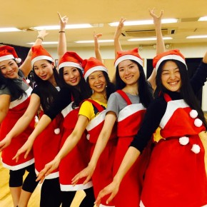 Belly Merry Christmas☆イヴレッスン芦屋クラス