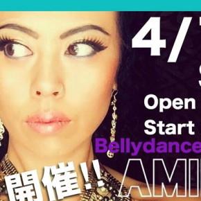 4/18(土)Amira先生のショーが開催【Secret of Cleopatra】