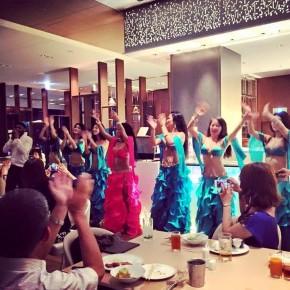 2016年明け1月5日(火)〜限定8公演@マリオット都ホテル19階 COOKA ベリーダンス ディナーショー開催